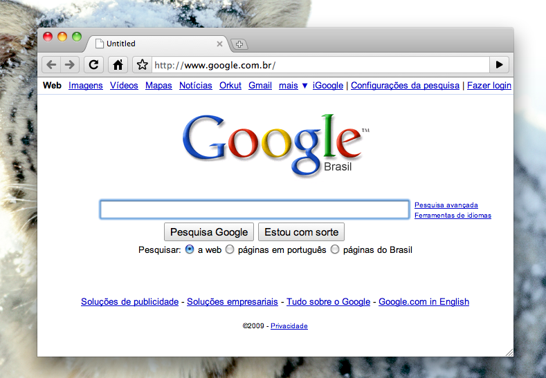 Google Chrome - MacOS